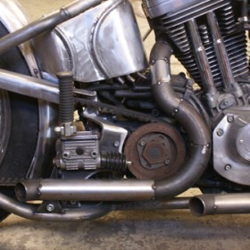 motorcycleparts Exhaust one off drags